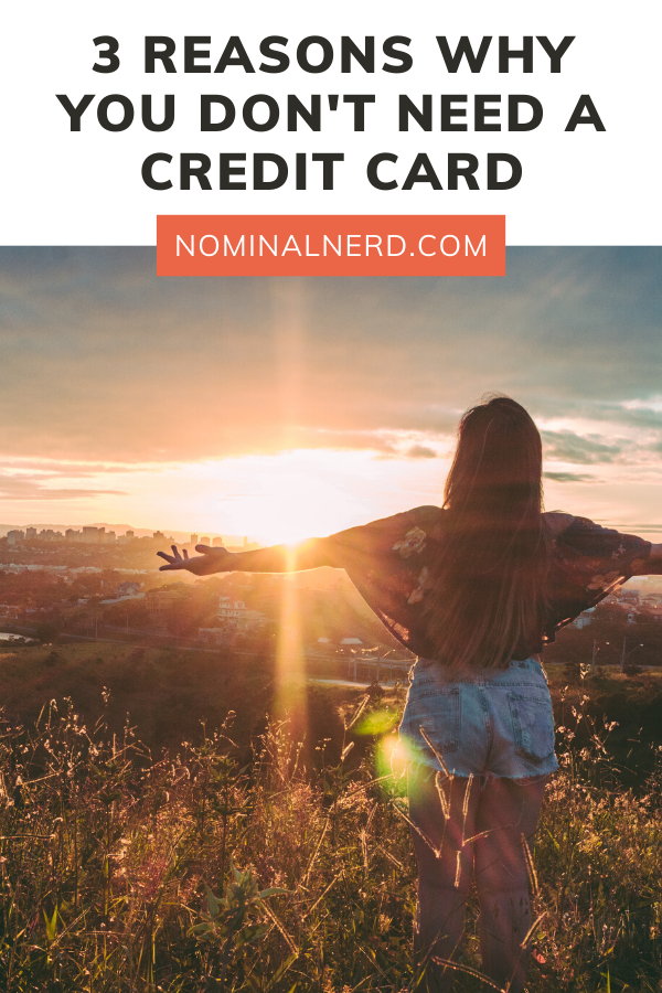 Three BIG reasons why you DON'T need a credit card! Why you don't need plastic to get ahead. budgeting | credit | credit cards | plastic | rewards