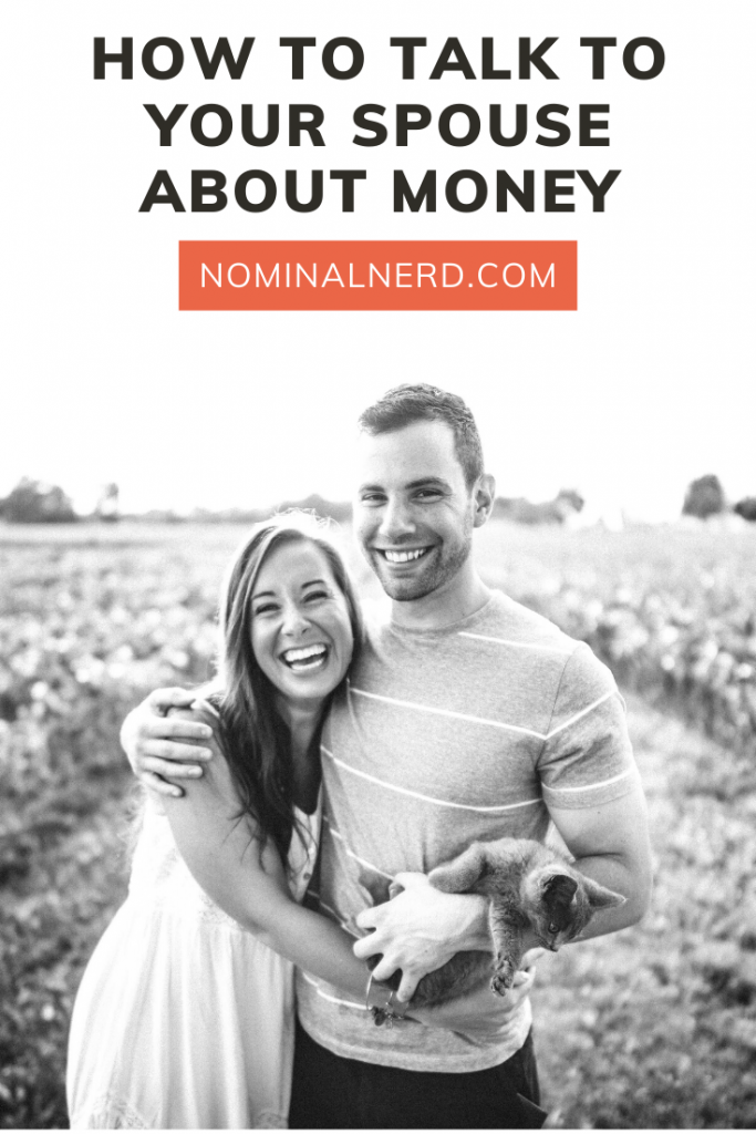 Nervous to talk to your spouse about money and the family budget? You're not alone! Money fights are some of the most common arguments in a relationship. Check out our tips on how to navigate the talk and be successful! spouse | budgeting | couple | money talk | fight | finances | family