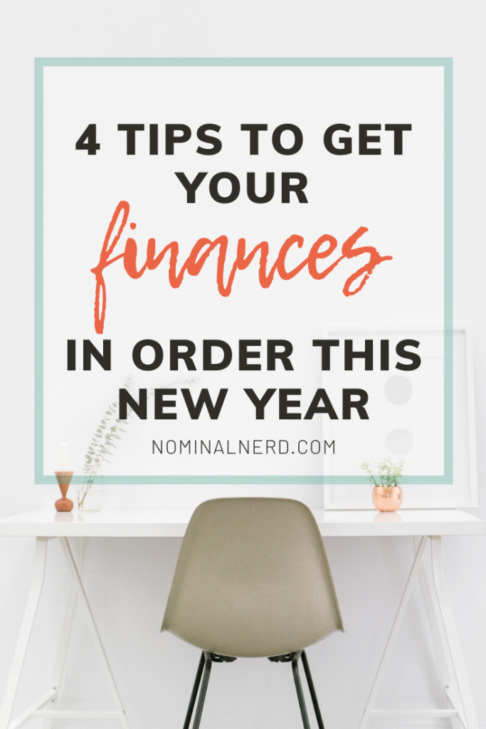 Feeling overwhelmed from overspending over the Holidays? Check out our four tips to get your finances back on track and get ahead this new year! budgeting | finances | debt | debt payoff | money | plan