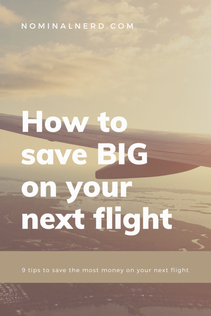 Traveling can be expensive. But it doesn't have to be. I've put together a list of 9 money-saving tips that can save you a lot on your next flight. These will help get a cheap flight for your next family vacation!