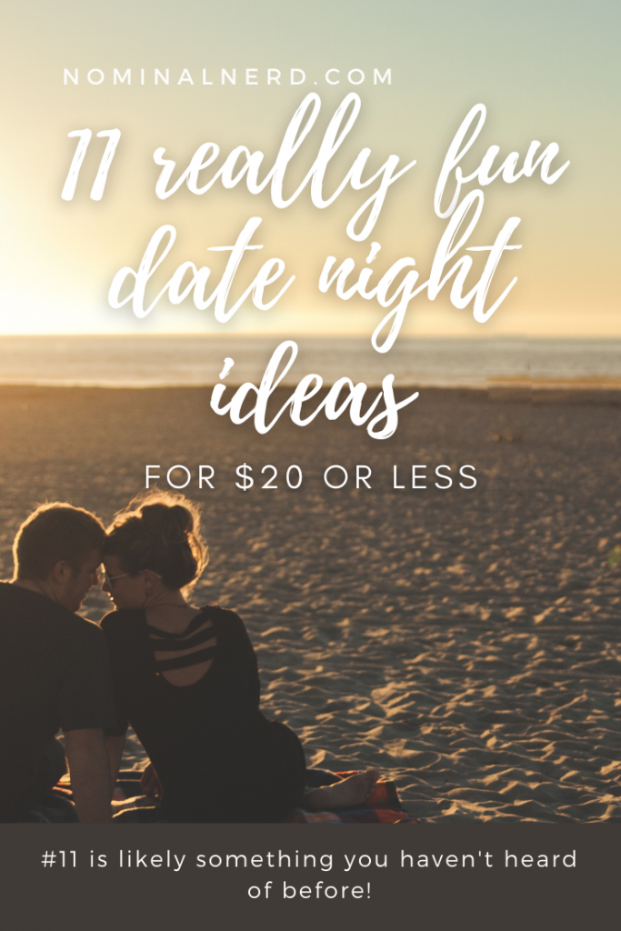 Are you looking for fun ways to connect with your partner? And is your budget getting in your way? Check out our list of fun date ideas for $20 or less! date night | date | budget | frugal | date ideas