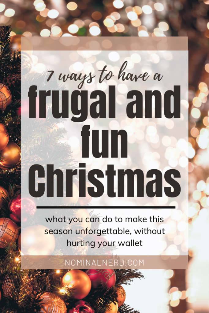 Is money tight this year and you are looking for frugal Christmas ideas? Check out our list to save money and still have a great Christmas this year! frugal | Christmas | presents | ideas | DIY | handmade | holidays | holiday gifts