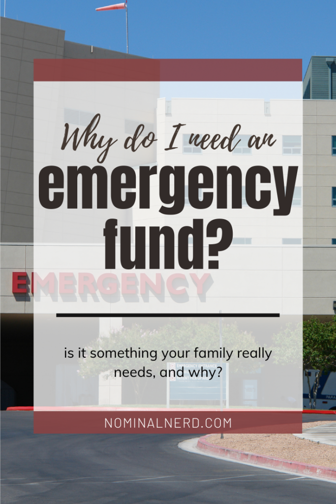 Is having an emergency fund necessary for every family? What should I try to cover? Check out how to make the emergency fund that is what your family needs. budget | emergency | savings | fund | family