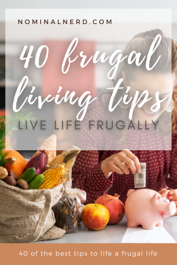 Are you looking to live a more frugal life and save money? Check out our guide of the best frugal living tips that will save thousands! frugal | frugal living | budgeting | save money