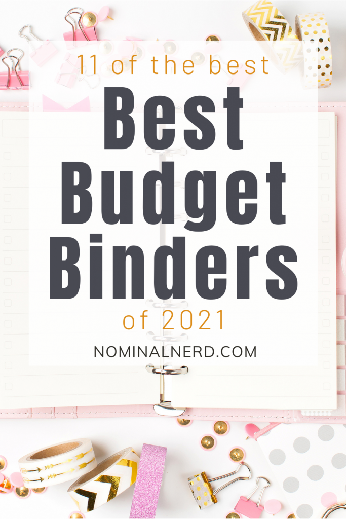 Are you looking to improve your finances with a monthly budget binder? Check out our list of planners you need to rock your finances in 2021! best budget binders   monthly budget   budget binder   budget planner