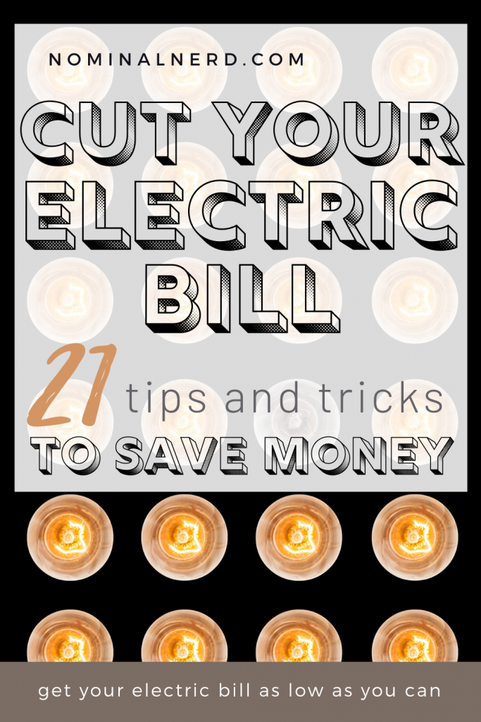 Is your electric bill the bulk of your monthly expenses? Check out our guide to cut your electric bill and save some serious cash! cut electric bill | save money | cut power | monthly bills | budget