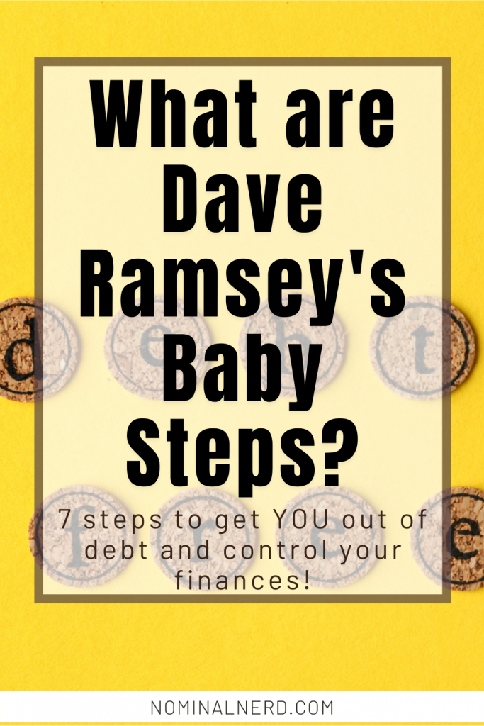 Tired of constantly worrying about your finances? Let's see how Dave Ramsey's 7 baby steps can help you dominate your finances! Dave Ramsey | budget | retirement | debt | debt payoff | personal finance | emergency fund