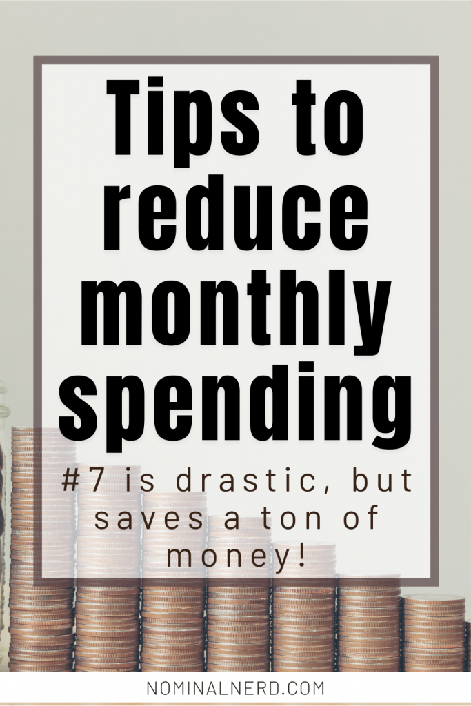 Looking for ways to cut your budget, reduce spending, and save money? We have 17 tips to get you started for maximum savings! cut your budget | budget | monthly budget | save money