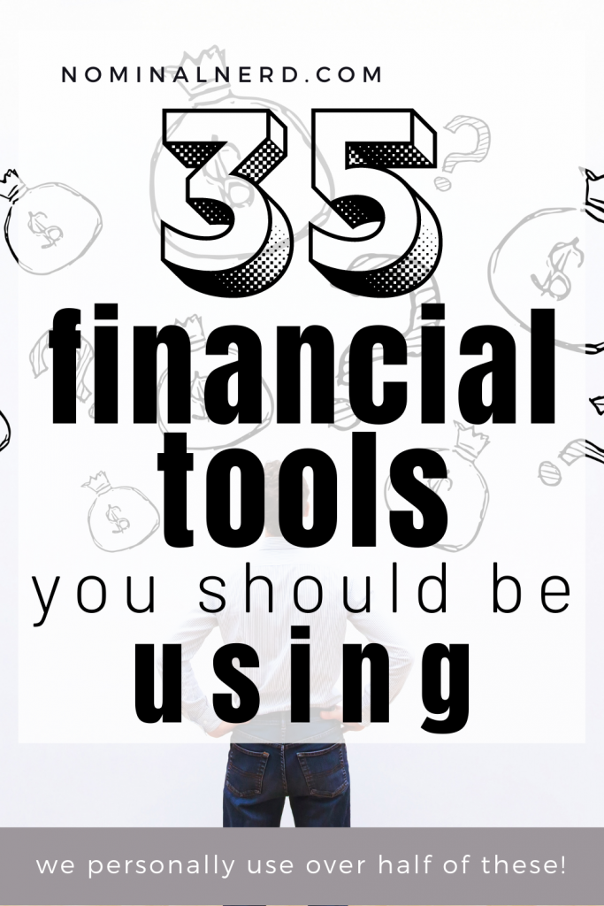 If you're not using at least one financial tool to help manage your finances, you're either doing it wrong or doing too much work yourself. I've got a list of financial tools that will help you make the most of your finances! budgeting | finance | financial tools | retirement | managing money